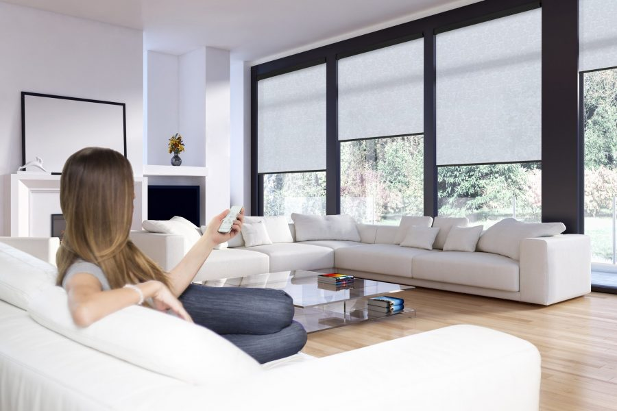 Motorised Blinds Gallery